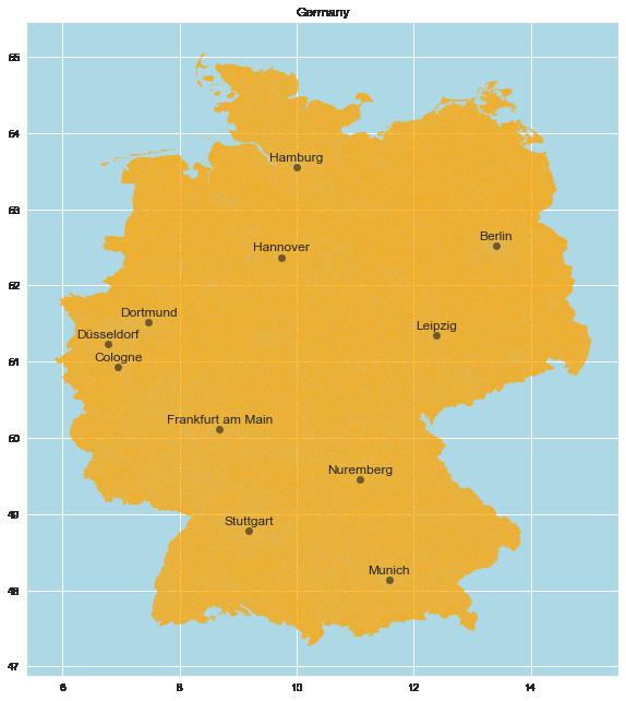 Geovisualization With Open Data